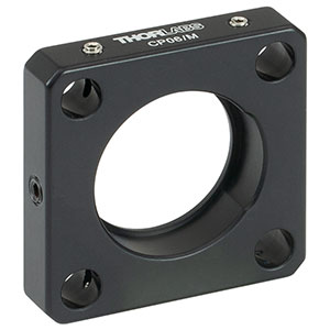 CP06/M - 30 mm Cage Plate with Ø1in Double Bore, M4 Tap