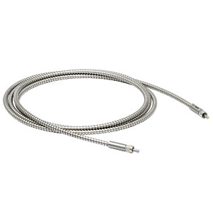 M200L02S-B - Ø200 µm, 0.22 NA, SMA905-SMA905 AR-Coated MM Patch Cable, 650 - 1100 nm, 2 m