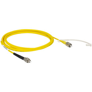 P1-SMF28EAR-2 - SM Patch Cable, AR-Coated FC/PC to Uncoated FC/PC, 1260 - 1620 nm, 2 m