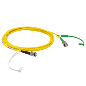 P5-980AR-2 - SM Patch Cable, AR-Coated FC/PC to Uncoated FC/APC, 980 - 1250 nm, 2 m