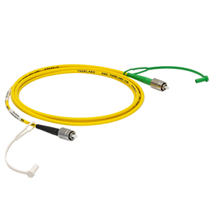 P5-SMF28EAR-2 - SM Patch Cable, AR-Coated FC/PC to Uncoated FC/APC, 1260 - 1620 nm, 2 m