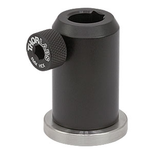 PH40E/M - Ø12.7 mm Pedestal Post Holder, Spring-Loaded Hex-Locking Thumbscrew, L=44.7 mm