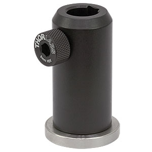 PH50E/M - Ø12.7 mm Pedestal Post Holder, Spring-Loaded Hex-Locking Thumbscrew, L=54.7 mm
