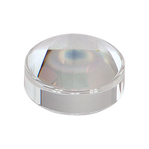 355392-A - f = 2.75 mm, NA = 0.64, Unmounted Geltech Aspheric Lens, AR: 350 - 700 nm