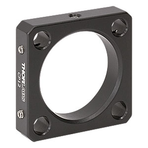 CP12 - 30 mm Cage Plate, Ø1.2in Double Bore for SM1 Lens Tube Mounting