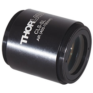 CLS-SL - Scan Lens with Large Field of View, 400 to 750 nm, EFL=70 mm