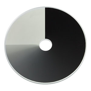 NDC-50C-2-B - Unmounted Continuously Variable ND Filter, Ø50 mm, OD: 0.04 - 2.0, ARC: 650 - 1050 nm