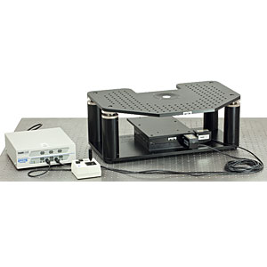 GMB-2FS - Motorized Gibraltar Stage for Zeiss Axioskop 2FS Microscopes, Aluminum Platform with Base Plate