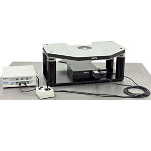 GMHB-BX - Motorized Gibraltar Stage for Olympus Microscopes, Stainless Steel Platform with Base Plate