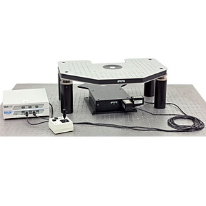 GMH-BX - Motorized Gibraltar Stage for Olympus Microscopes, Stainless Steel Platform w/o Base Plate