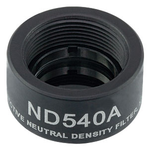 ND540A - Reflective Ø1/2in ND Filter, SM05-Threaded Mount, Optical Density: 4.0