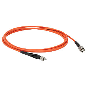 M12L02 - Ø300 µm, 0.39 NA, Low OH, FC/PC to SMA905 Fiber Patch Cable, 2 m