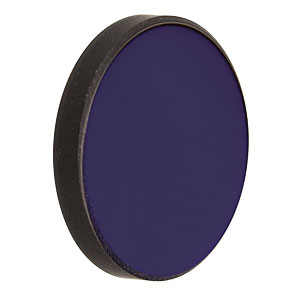 NE50B-B - Ø25 mm AR-Coated Absorptive Neutral Density Filter, 650-1050 nm, OD: 5.0