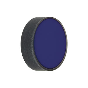NE550B-B - Ø1/2in AR-Coated Neutral Density Filter, 650-1050 nm, OD: 5.0