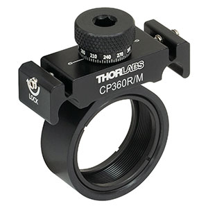 CP360R/M - Pivoting, Quick-Release, Ø1in Optic Mount for 30 mm Cage System (Metric)