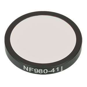NF980-41 - Ø25 mm Notch Filter, CWL = 980 nm, FWHM = 41 nm