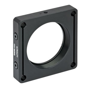 LCP08/M - 60 mm Cage Plate, SM2 Threads, Enhanced Clamping, 0.5in Thick, M4 Tap (One SM2RR Retaining Ring Included)