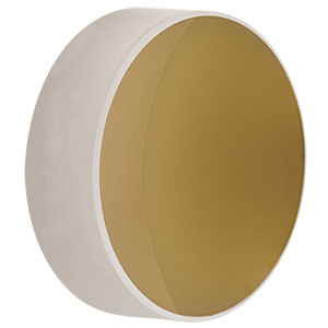 CM254-019-M01 - Ø1in Gold-Coated Concave Mirror, f = 19.0 mm
