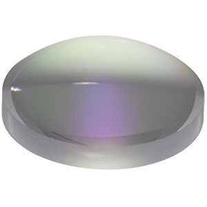 LA4647-C - f=20 mm, Ø1/2in UVFS Plano-Convex Lens, ARC: 1050 - 1700 nm