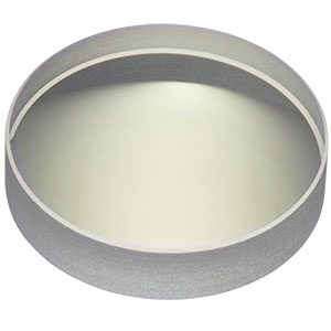 LC4513-B - Ø1in, f = -75mm, UV Fused Silica Plano-Concave Lens, ARC: 650 - 1050 nm