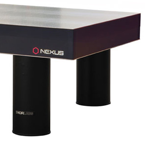 T48HK - Nexus Optical Table, 4' x 8' x 8.3in, with 700 mm Tall Active Isolator Legs