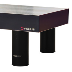 T1225QK - Nexus Optical Table with Sealed Holes, 1.2 m x 2.5 m x 310 mm, with 600 mm Tall Active Isolator Legs
