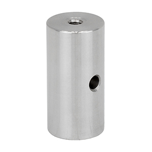 RS2 - Ø1in Pillar Post, 1/4in-20 Taps, L = 2in, 8-32 Adapter Included