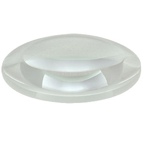 LA4545 - f = 100.0 mm, Ø2in UV Fused Silica Plano-Convex Lens, Uncoated
