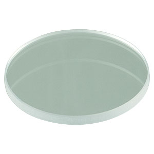 LB4282 - f = 200.0 mm, Ø1in UV Fused Silica Bi-Convex Lens, Uncoated