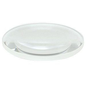 LB4140 - f = 150.0 mm, Ø2in UV Fused Silica Bi-Convex Lens, Uncoated