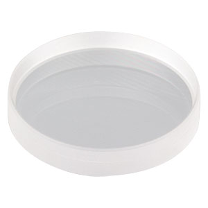 "LC5289 - Ø1"" CaF<sub>2</sub> Plano-Concave Lens, f = -100.0 mm, Uncoated"