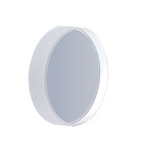 PF10-03 - Fused Silica Mirror Blank, Ø25.4 mm (1in), Thickness: 6.0 mm ± 0.2 mm