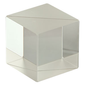 BS013 - 50:50 Non-Polarizing Beamsplitter Cube, 400 - 700 nm, 1in