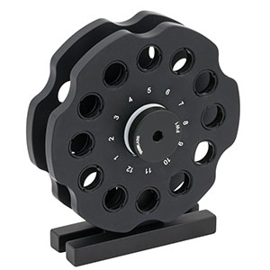 FW2B - Filter Wheel Station for Ø1/2in Filters, Two Wheels, 24 Filter Capacity