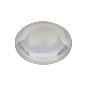 LA4052-UV - f = 35.0 mm, Ø1in UV Fused Silica Plano-Convex Lens, AR Coating: 245-400 nm