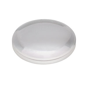 LA1422-A - N-BK7 Plano-Convex Lens, Ø1in, f = 40 mm, AR Coating: 350 - 700 nm