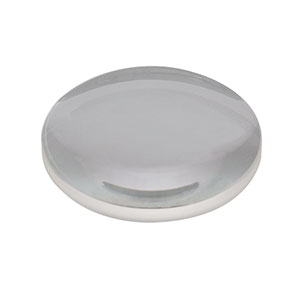 LA1131-A - N-BK7 Plano-Convex Lens, Ø1in, f = 50.0 mm, AR Coating: 350 - 700 nm