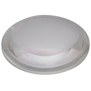 LA1238-A - N-BK7 Plano-Convex Lens, Ø75.0 mm, f = 100.0 mm, AR Coating: 350 - 700 nm