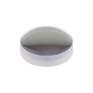 LA1470-B - N-BK7 Plano-Convex Lens, Ø6.0 mm, f = 12 mm, AR Coating: 650 - 1050 nm