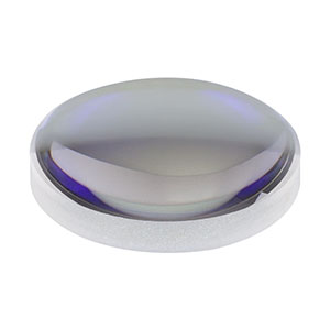 LA1074-B - N-BK7 Plano-Convex Lens, Ø1/2in, f = 20.0 mm, AR Coating: 650-1050 nm