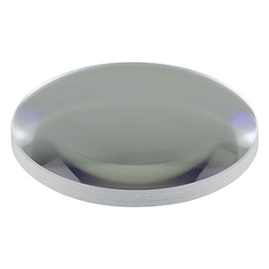 LA1608-B - N-BK7 Plano-Convex Lens, Ø1in, f = 75 mm, AR Coating: 650 - 1050 nm