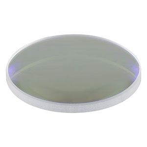 LA1509-B - N-BK7 Plano-Convex Lens, Ø1in, f = 100 mm, AR Coating: 650 - 1050 nm