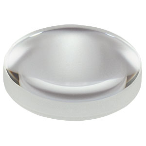 LB1187-A - N-BK7 Bi-Convex Lens, Ø1/2in, f = 100.0 mm, ARC: 350-700nm