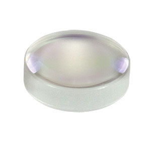 LB1406-C - N-BK7 Bi-Convex Lens, Ø6.0 mm, f = 12.0 mm, ARC: 1050 - 1700 nm