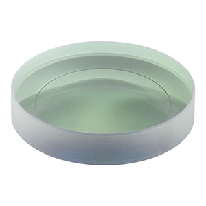 LC1093-C - N-BK7 Plano-Concave Lens, Ø2in, f = -100 mm, AR Coating: 1050-1700 nm