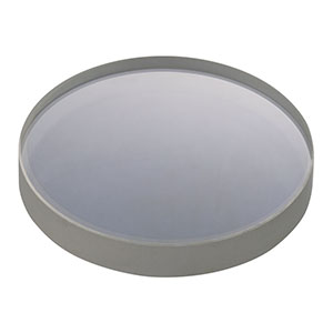 LF4706-UV - f = -500.0 mm, Ø1in UV Fused Silica Negative Meniscus Lens, AR Coating: 245-400 nm