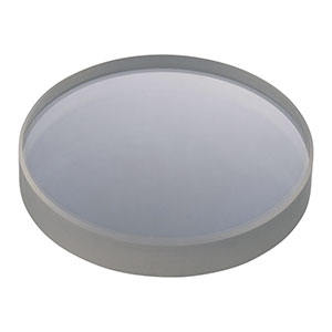 LF4986-UV - f = -1000.0 mm, Ø1in UV Fused Silica Negative Meniscus Lens, AR Coating: 245-400 nm