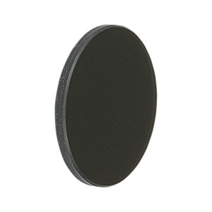NE10B - Unmounted Ø25 mm Absorptive ND Filter, Optical Density: 1.0