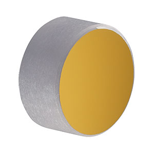 PF05-03-M01 - Ø1/2in Protected Gold Mirror