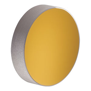 PF10-03-M01 - Ø1in (25.4 mm) Protected Gold Mirror